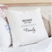 Personalised The Family Cushion Cover P0510D85